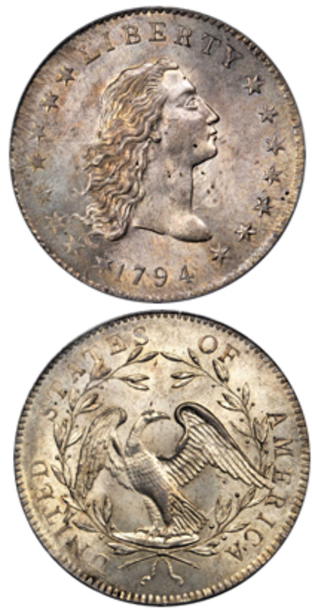 A new home was found for this 1794 silver dollar. The buyer paid $2.8 million.