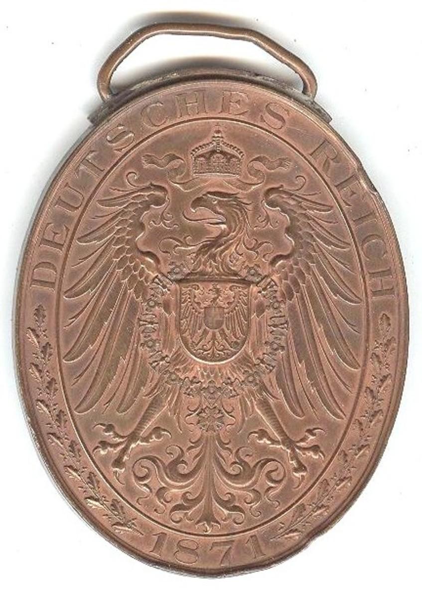 Wuerttemberg Flag Medal