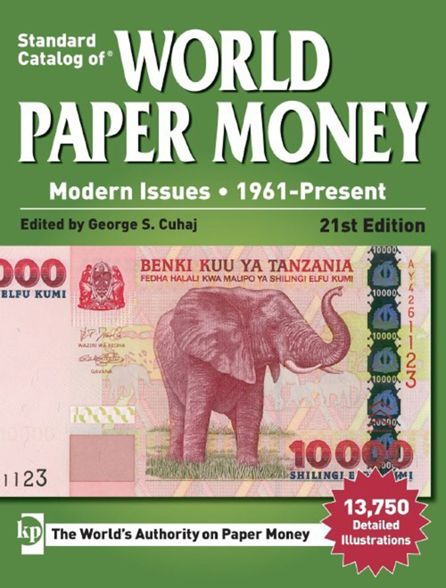 The latest Standard Catalog of World Paper Money, Modern Issues is now available.