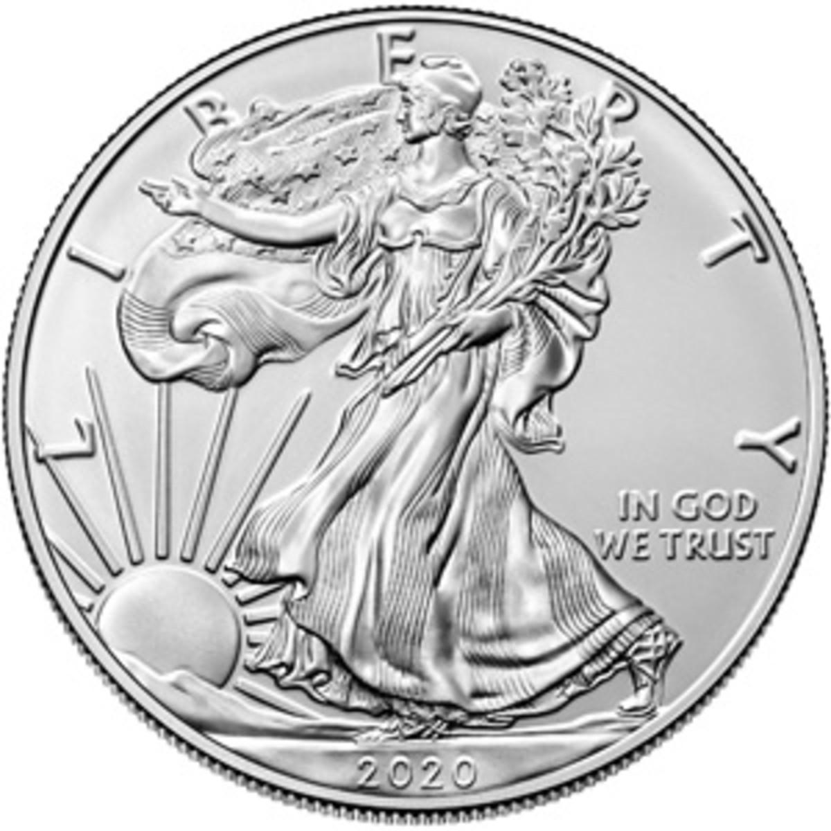 SilverAmericanEagle2020