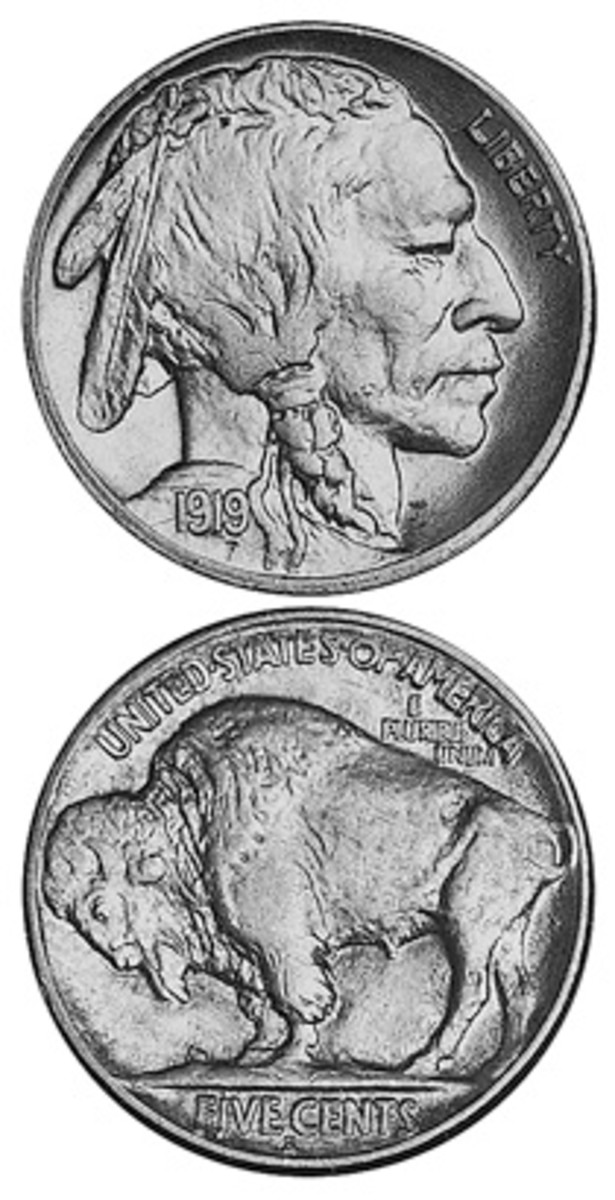 Although lower-grade examples of the 1919-S Buffalo nickel are less costly than its sister 1919-D coin in lower grades, it vaults to nearly twice the 1919-D value in MS65 condition.