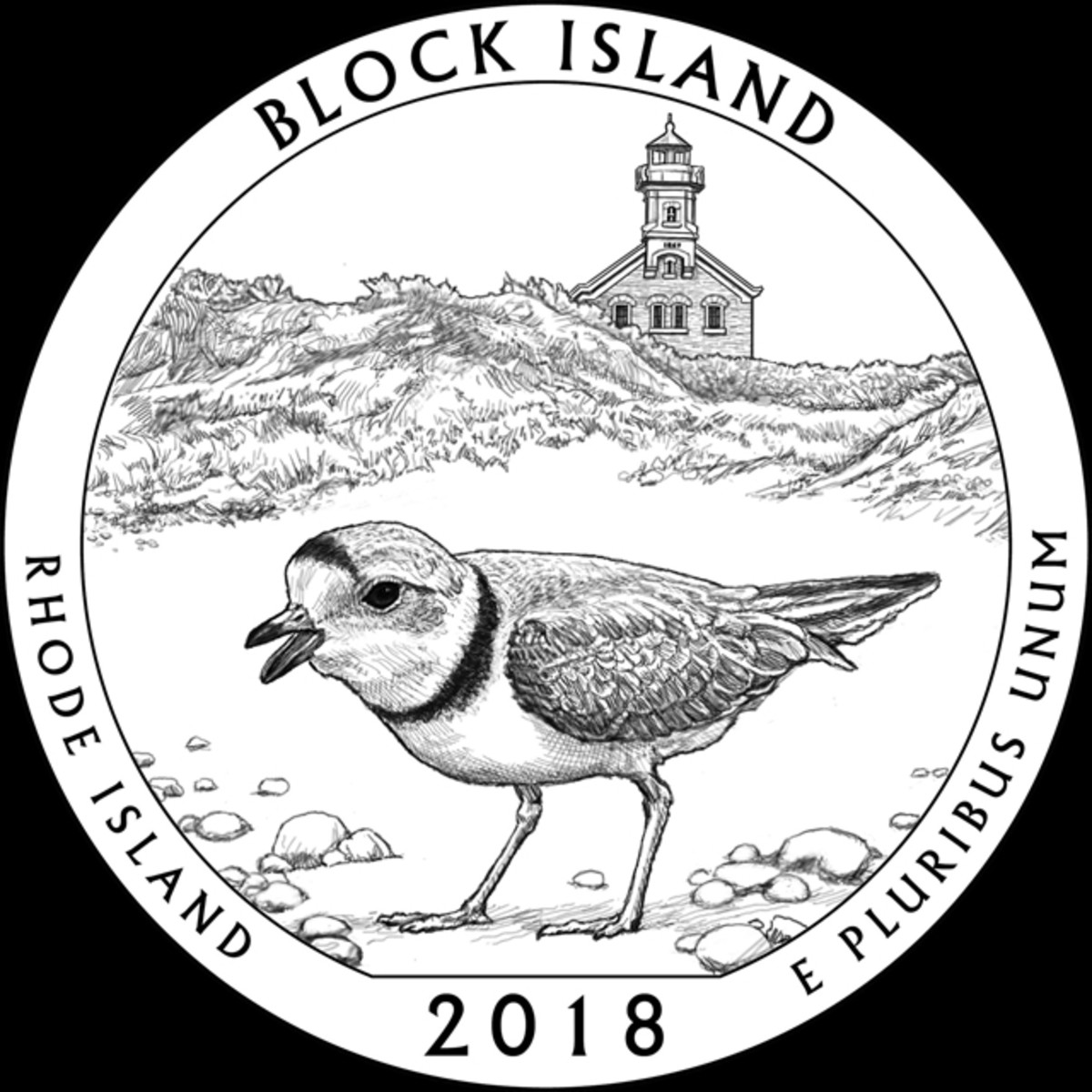 The CCAC selected RI-10 for Rhode Island's Block Island quarter.