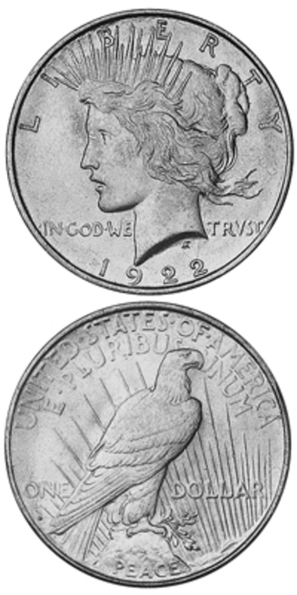 There was little demand for the 1922-S Peace dollar when it was issued. Bags released in later years were not examined for high-grade examples, so fewer exist today than otherwise might.