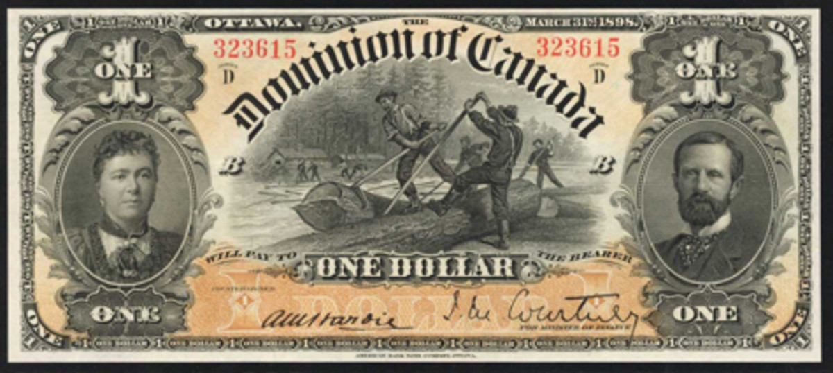 Dominion of Canada dollar of 1898 (DC-13a), which realized $25,200 in a most desirable PMG Gem Uncirculated 66 EPQ grade. (Image courtesy Stack's Bowers)