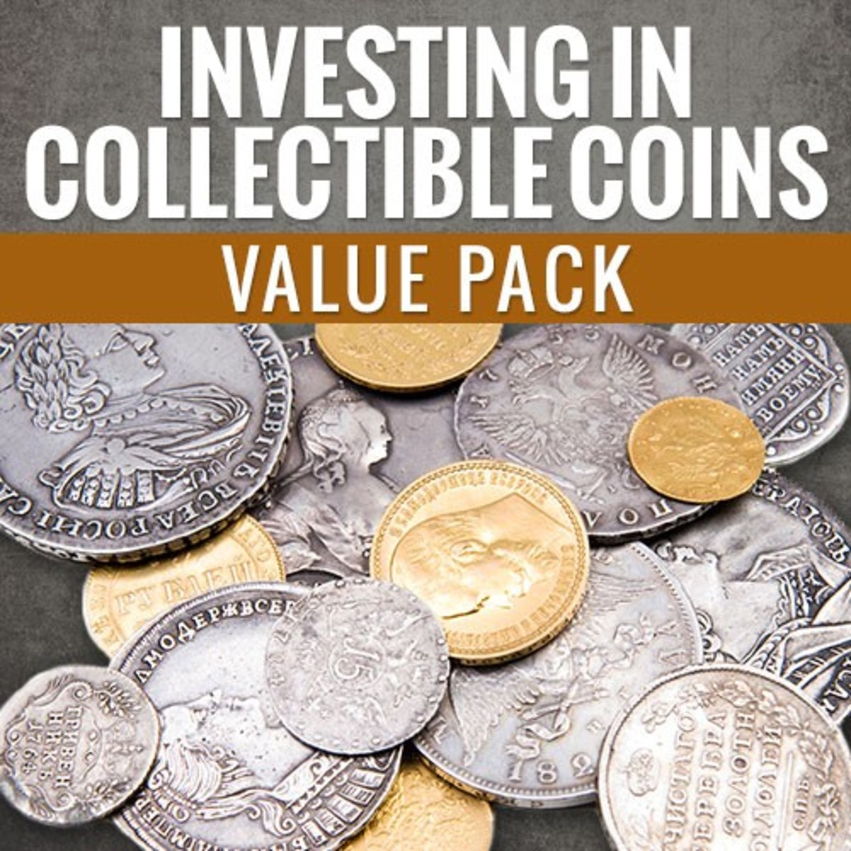 Check out this pack today to learn about investing in collectible coins!