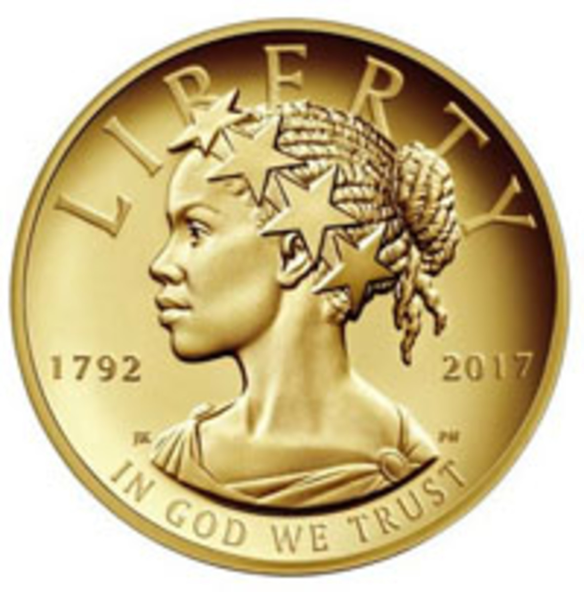 2017 American Liberty gold $100 coin