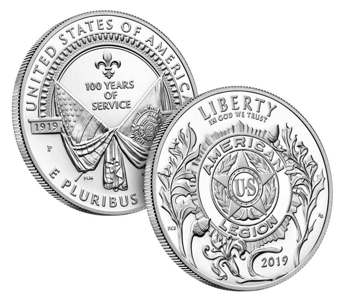 The American Legion 100th Anniversary Proof Silver Dollar included in this set is also available individually for $59.95.