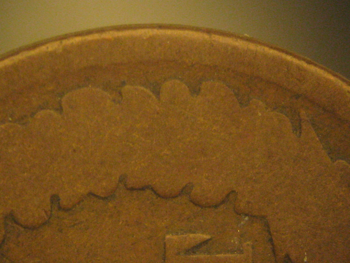 Figure 1: Indian cent design with major design detail.