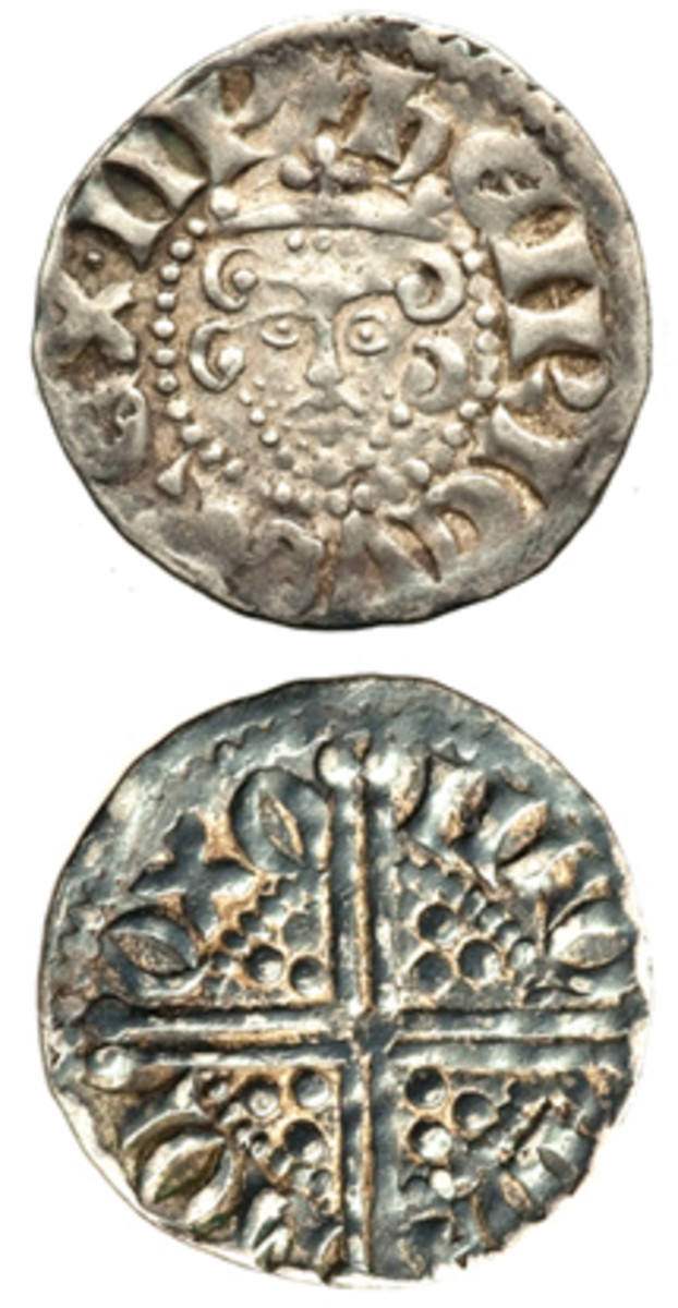 Silver penny of King Henry III