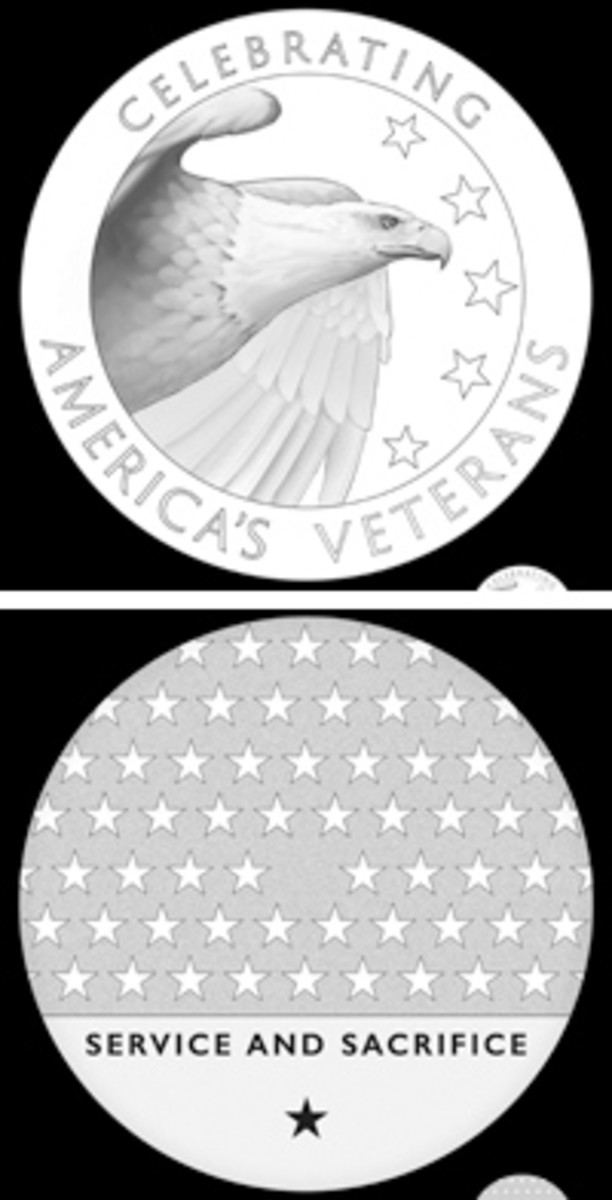 Designs have been recommended to the Treasury secretary honoring American veterans and their service and sacrifice for the Nation.
