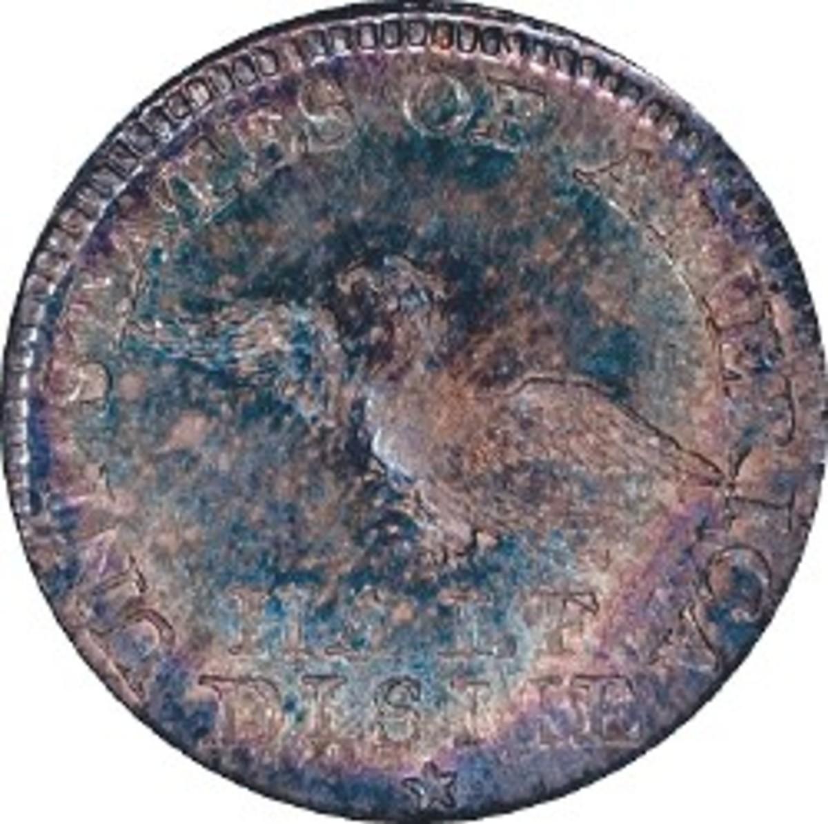 1792 Half Disme, NGC MS-68, back.jpg