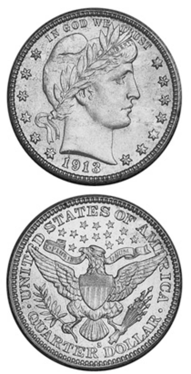 Despite having the lowest mintage for regular-date silver coins of the 20th century, the 1913-S Barber quarter is neither the most expensive silver coin nor the key date of the Barber series.