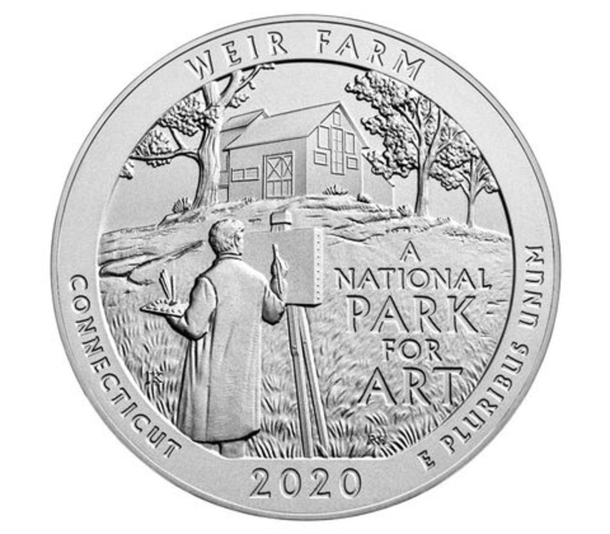 The 2020 America the Beautiful 5-ounce Uncirculated coin is set for release May 18. (Image courtesy U.S. Mint)