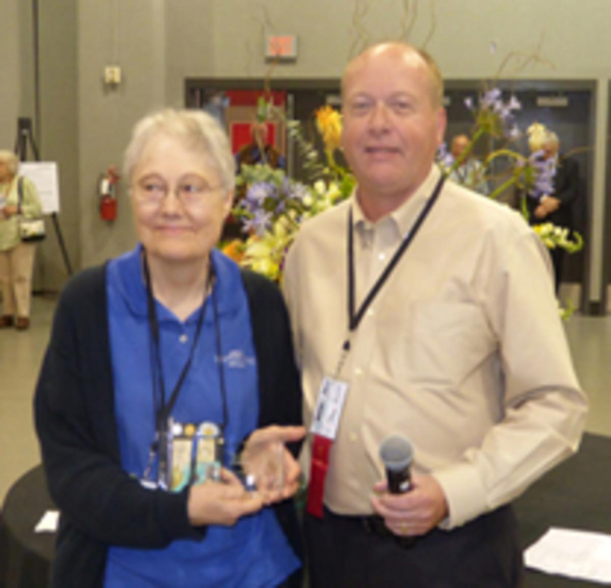 Nancy Wilson took home the SPMC Julian Blanchard Award, presented by Shawn Hewitt.