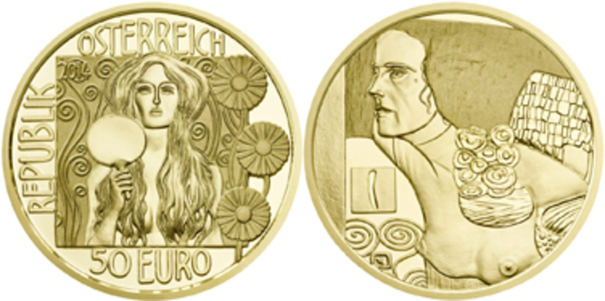Austria's Most Artistic Coin winner.