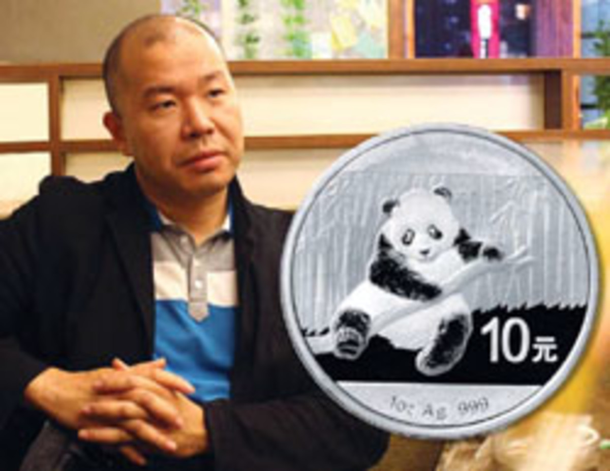 Artist Rocky Zhao is the designer of the 2014 Panda.
