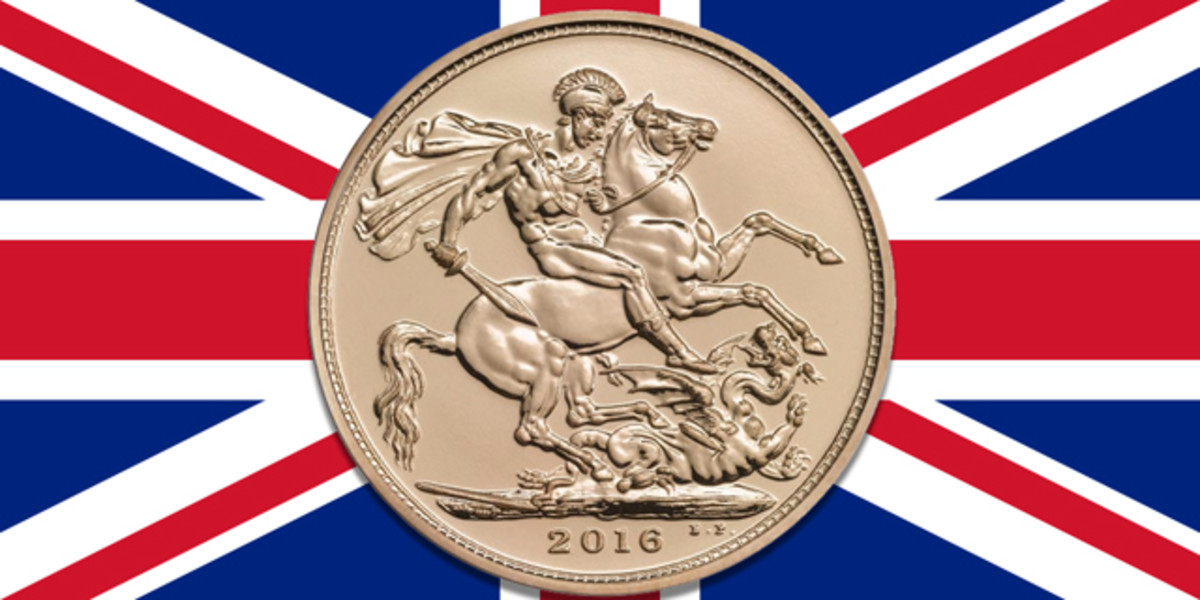 """The price of gold is rising as the financial effects of """"Brexit"""" are felt."""