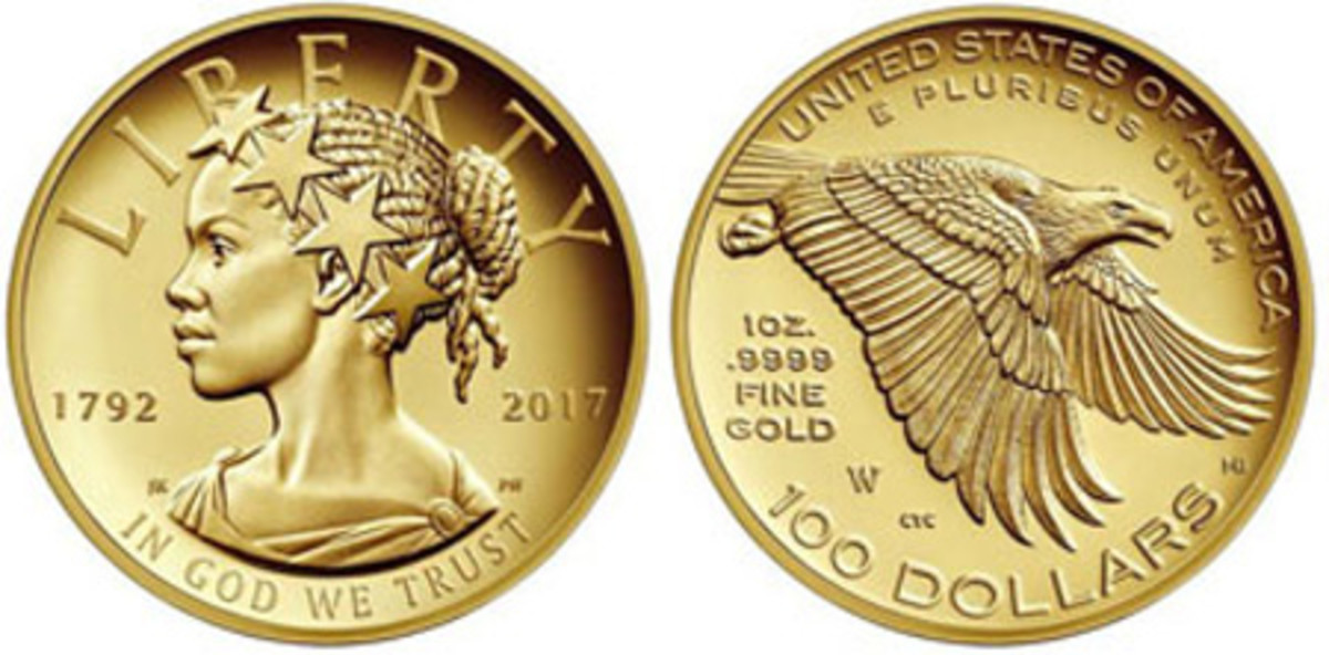 Best Gold Coin — United States of America — 100 Dollars, Gold — American Liberty 225th Anniversary Gold Coin