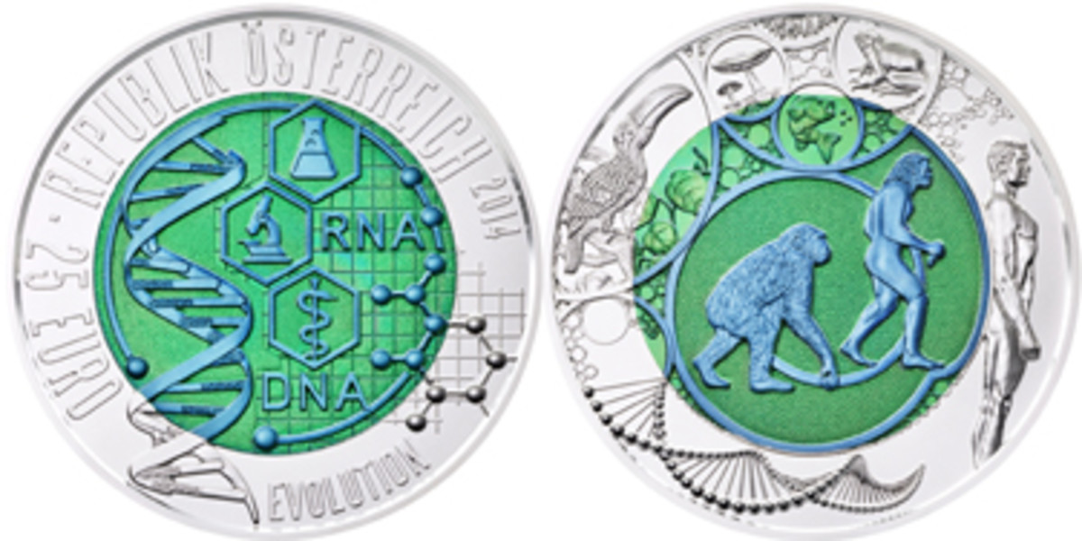 Austria's Best Bi-Metallic Coin winner.