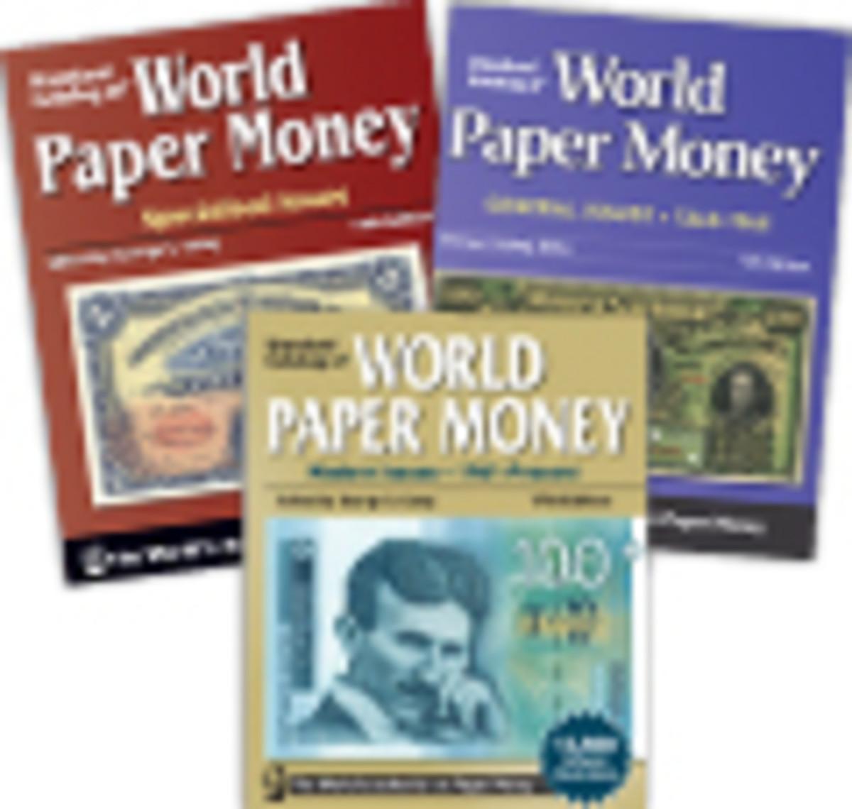 Standard Catalog of World Paper Money Trio