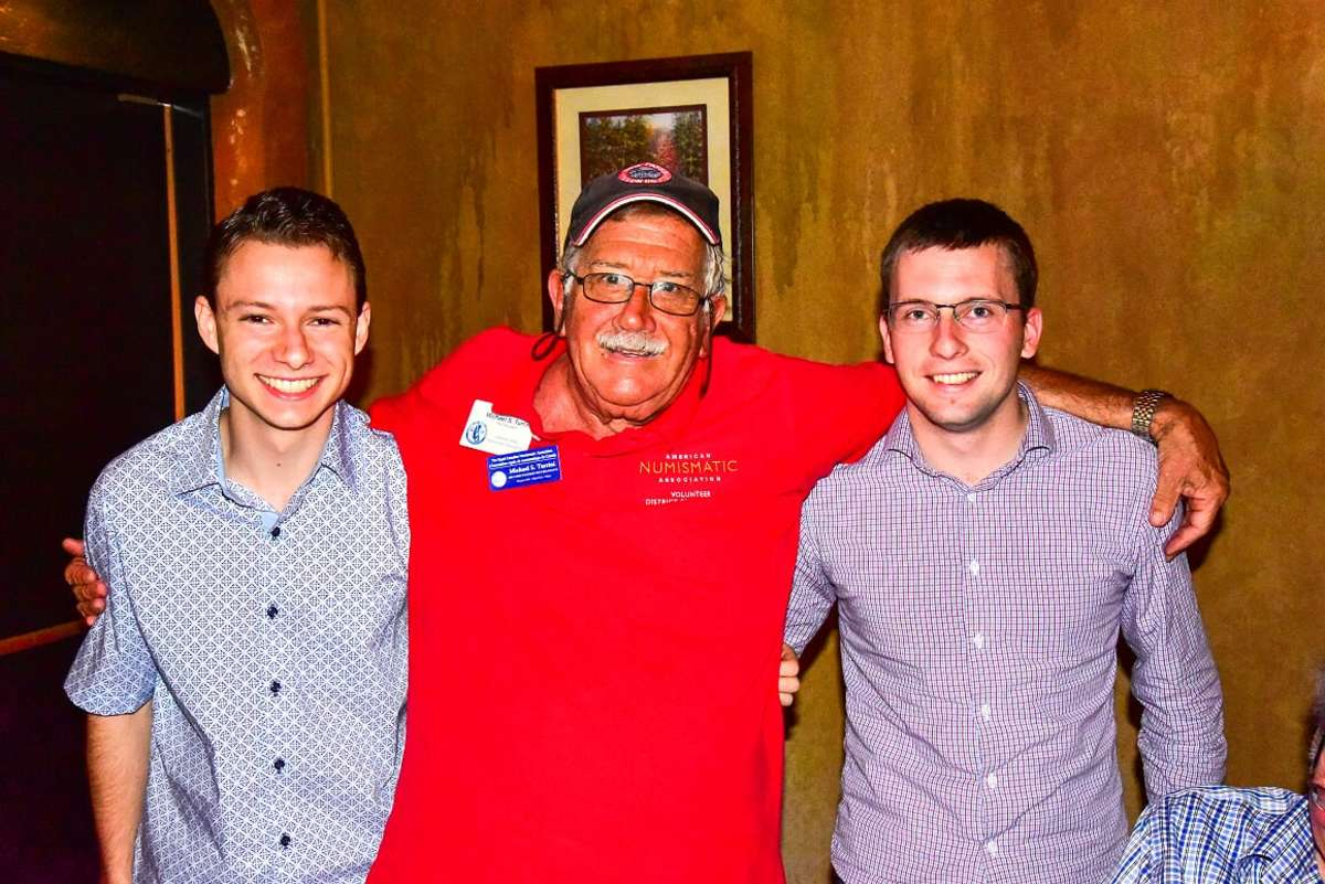(left to right) Matthew L. Malvini, Michael S. Turrini, Forum Coordinator, and Kyle W. Lubke.