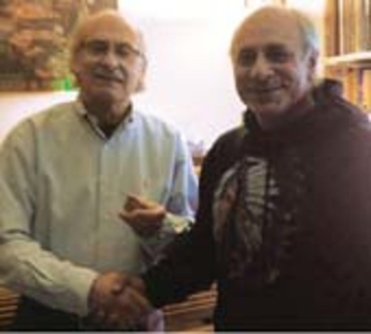 Carl Feldman receives Nettleship Award