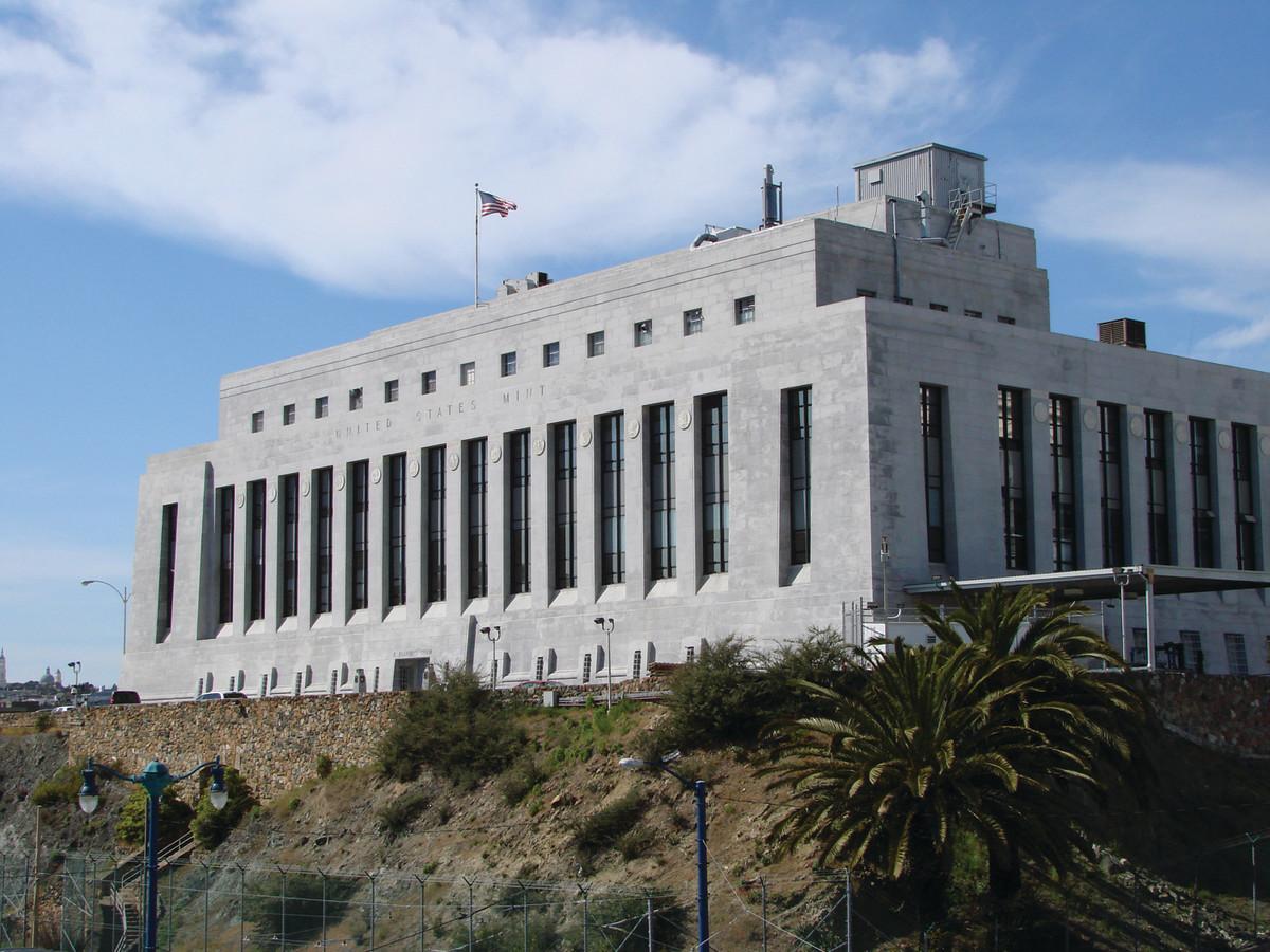 San Francisco Mint facility. (Image courtesy U.S. Mint)