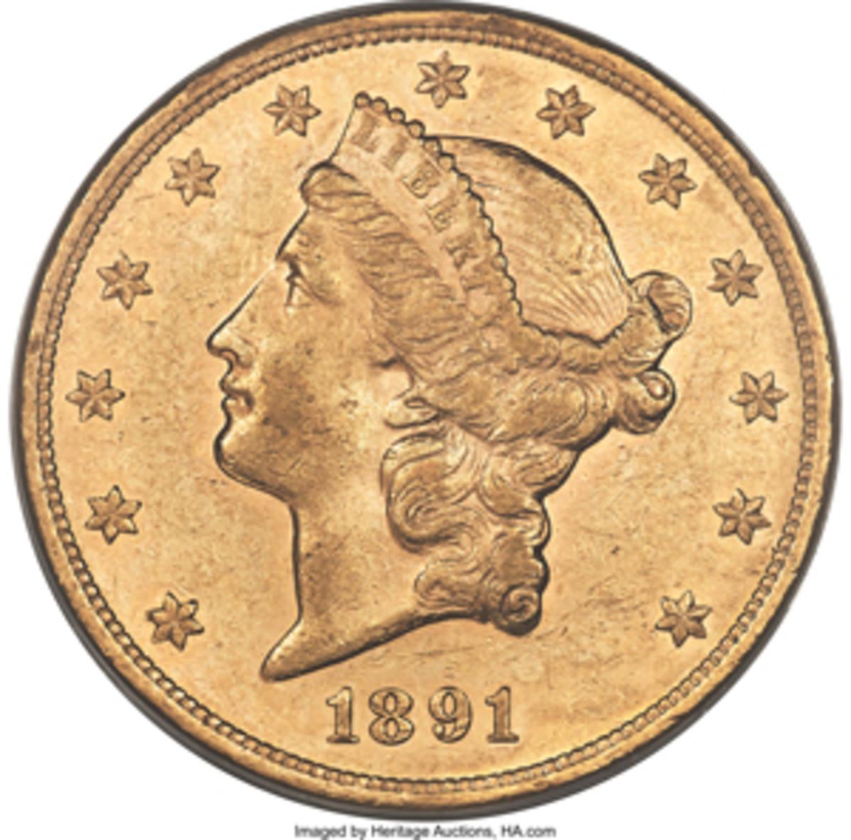 1891 Half Eagle