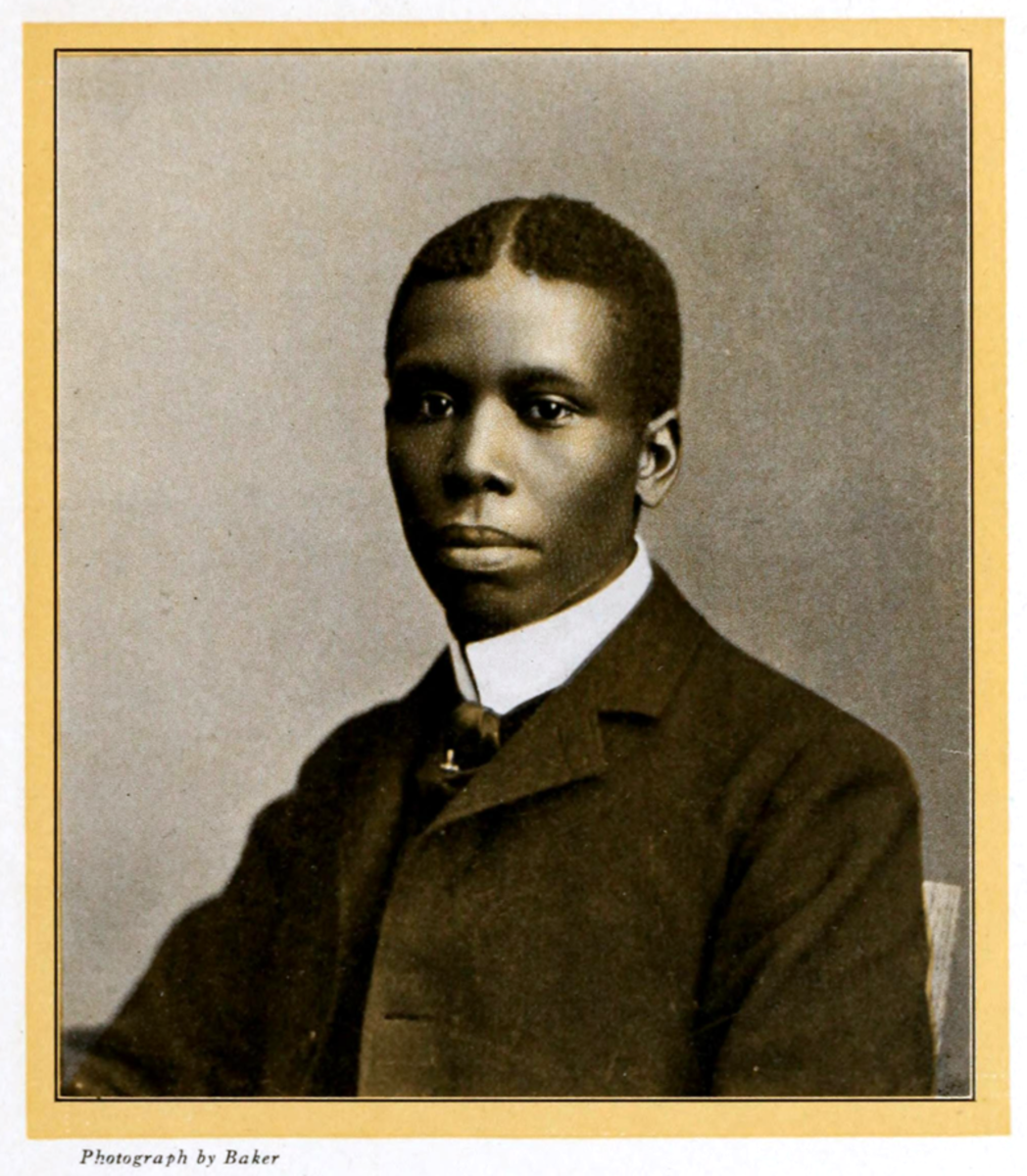 Paul Laurence Dunbar.  (Image taken from The Booklovers Magazine, July 1903)