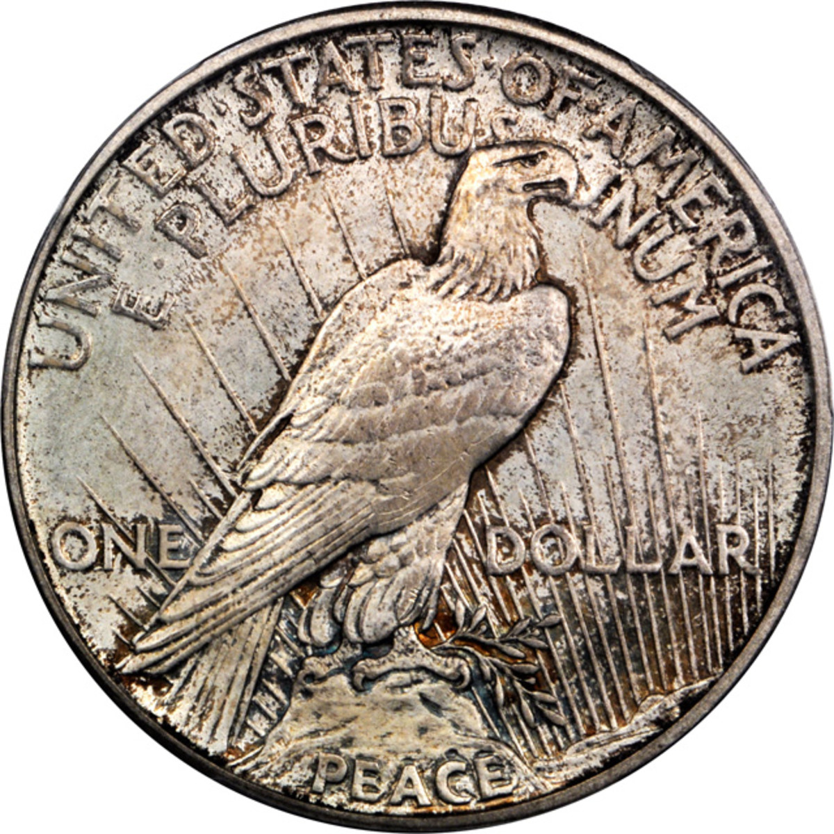 Lot 13168. 1922 Peace Silver Dollar. Modified High Relief Production Trial. Judd-2020. PCGS MS-65. Ex: Raymond T. Baker Estate.