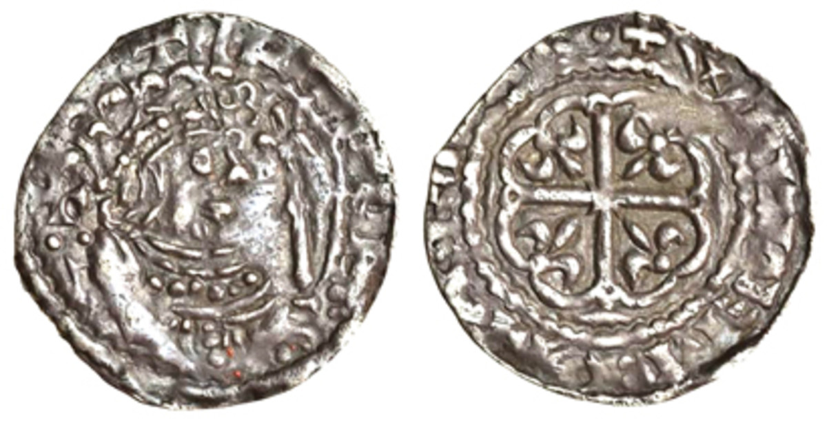 Penny of the Empress Matilda struck by the moneyer William at Bristol. (Photo courtesy of Spink)