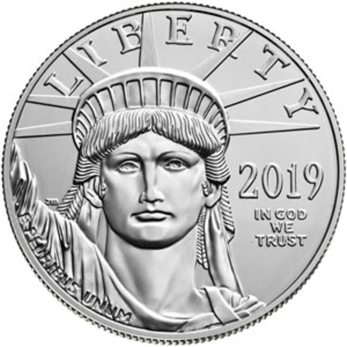 Platinum Bullion Eagle coin