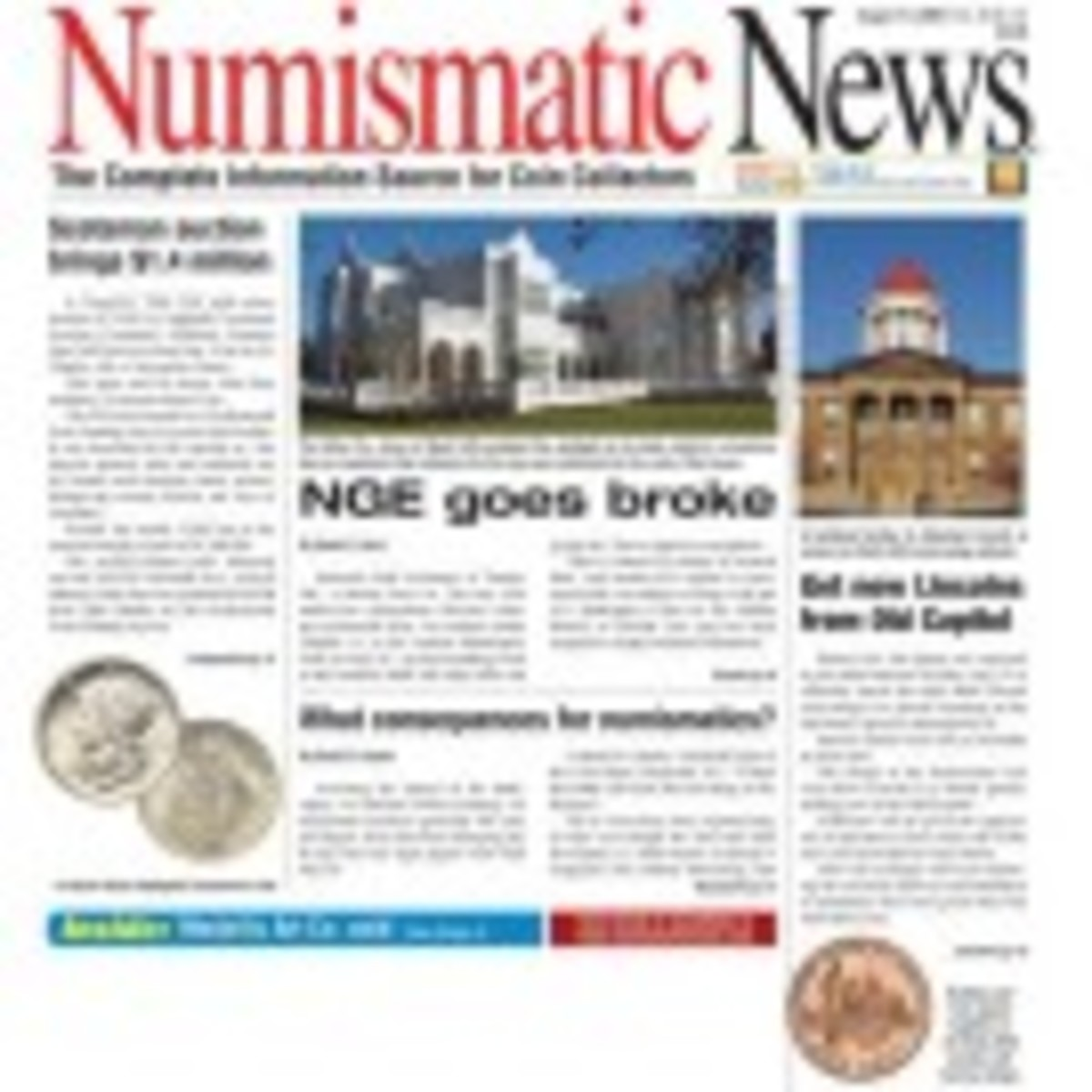 Numismatic News Magazine One Year Subscription