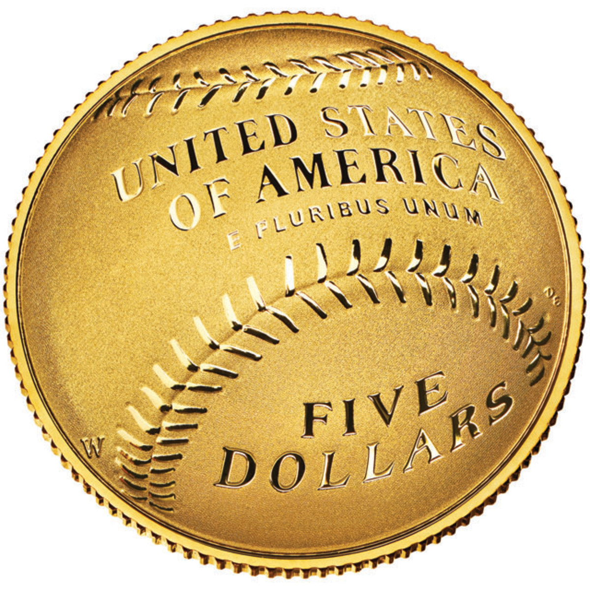 The $5 gold Baseball Hall of Fame coin sold out within a matter of hours after release