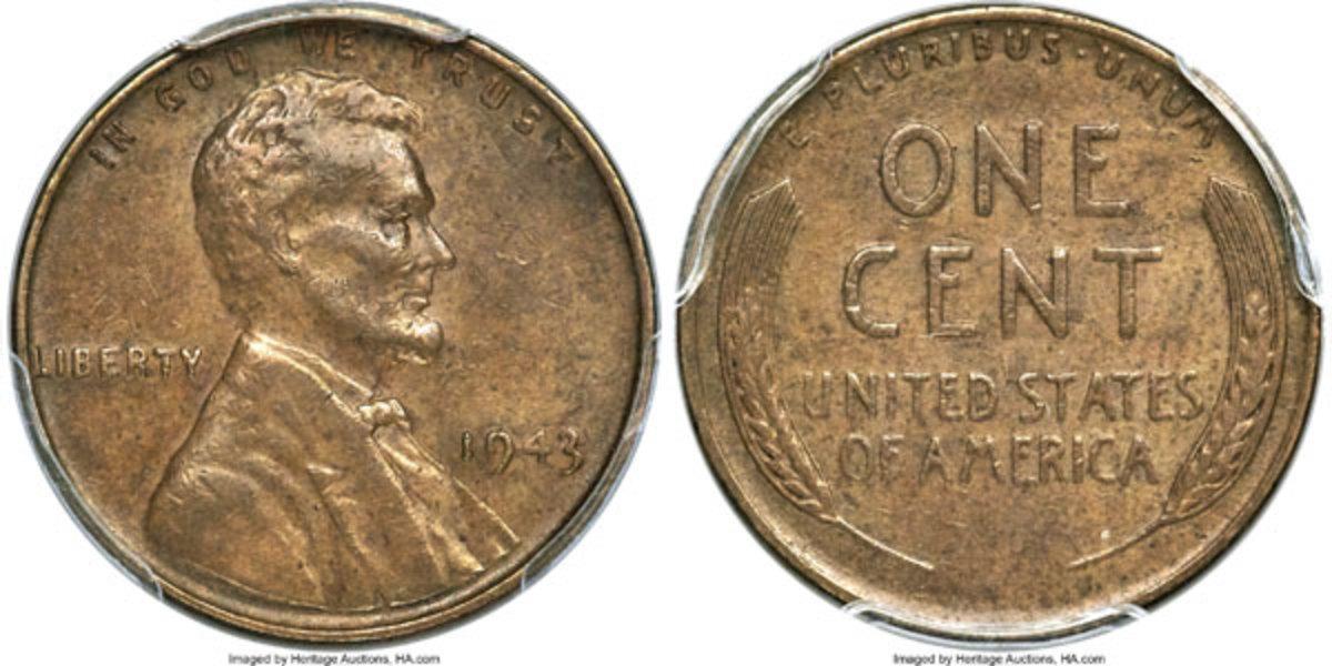 1943 Bronze Lincoln Cent