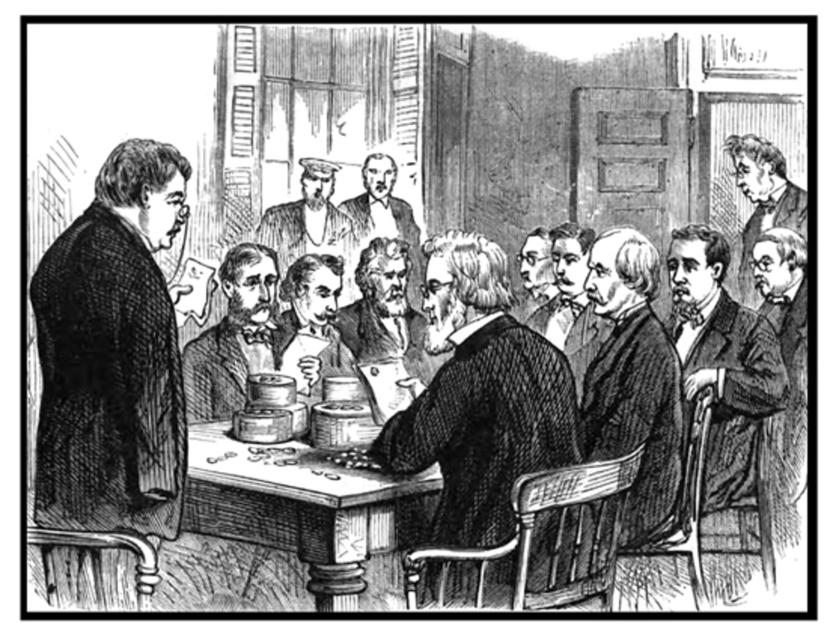 Meeting of the United States Assay Commission on Feb. 9, 1876.