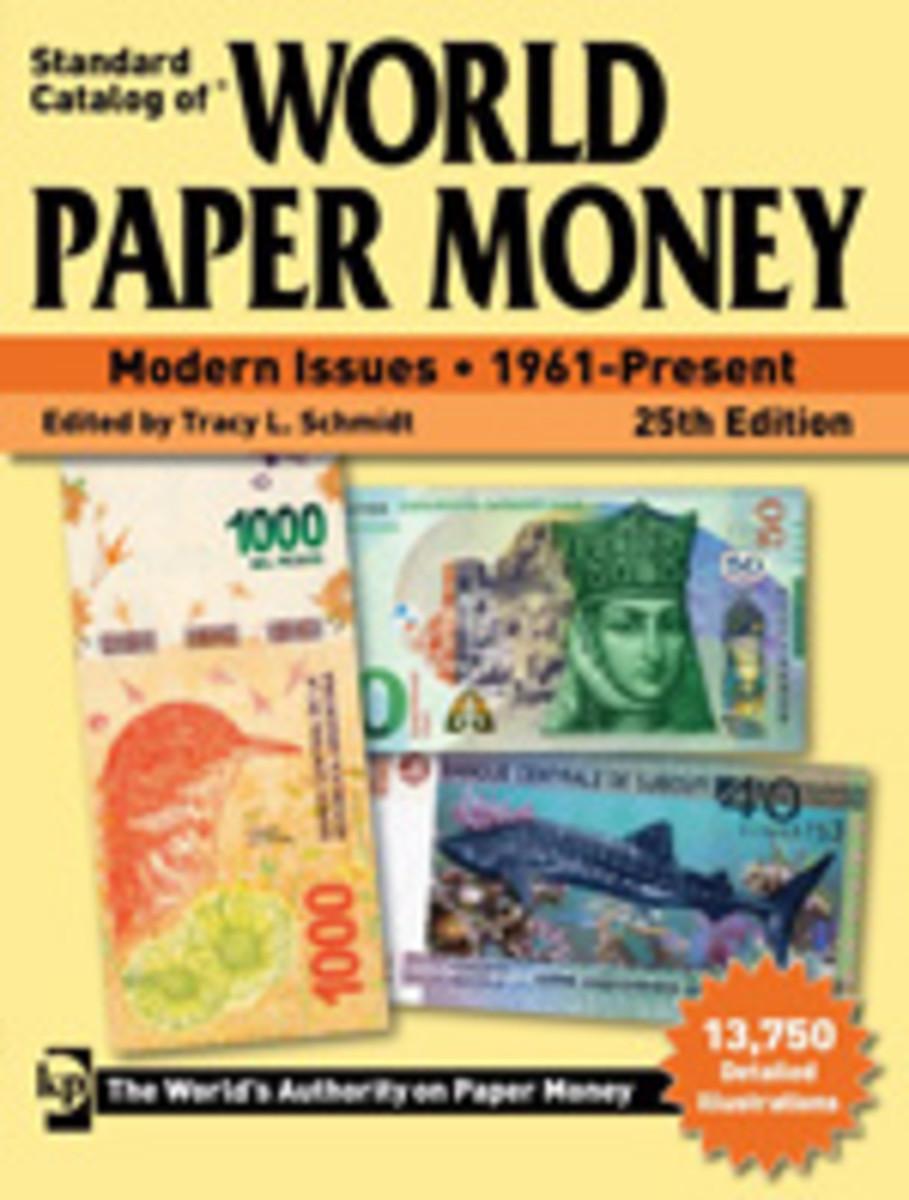 Standard Catalog of World Paper Money, Modern Issues