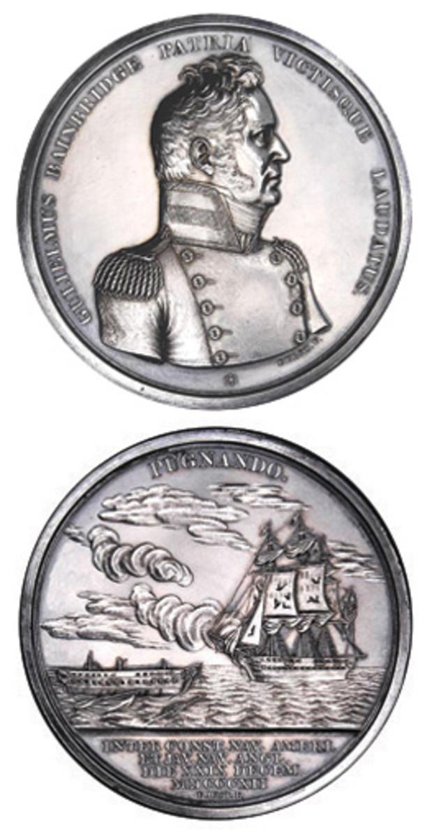 The William Bainbridge medal. (Photo courtesy of Stacks-Bowers)