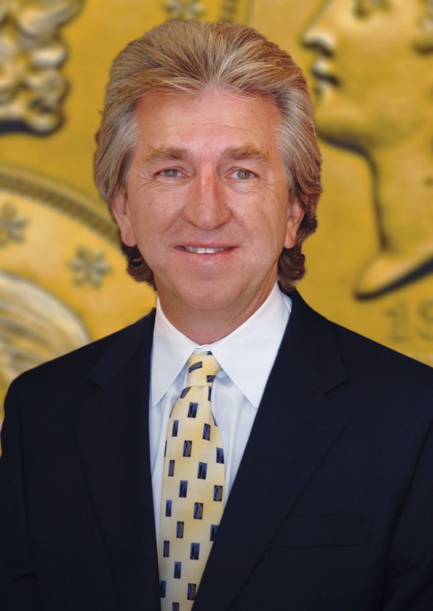 Jeff Garrett will be sworn is as the president of the American Numismatic Association on Aug. 14.