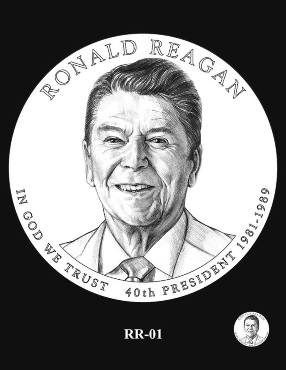 The 2016 Ronald Reagan Presidential dollar design was selected by the CCAC at its March meeting.