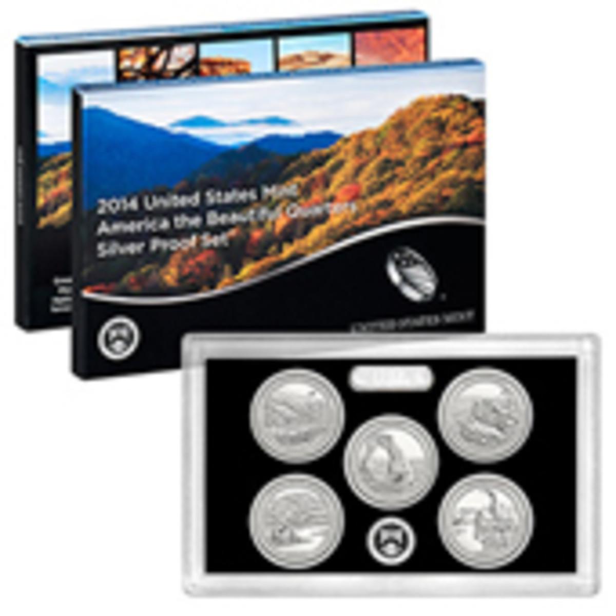 2014 Silver Quarter Proof Set