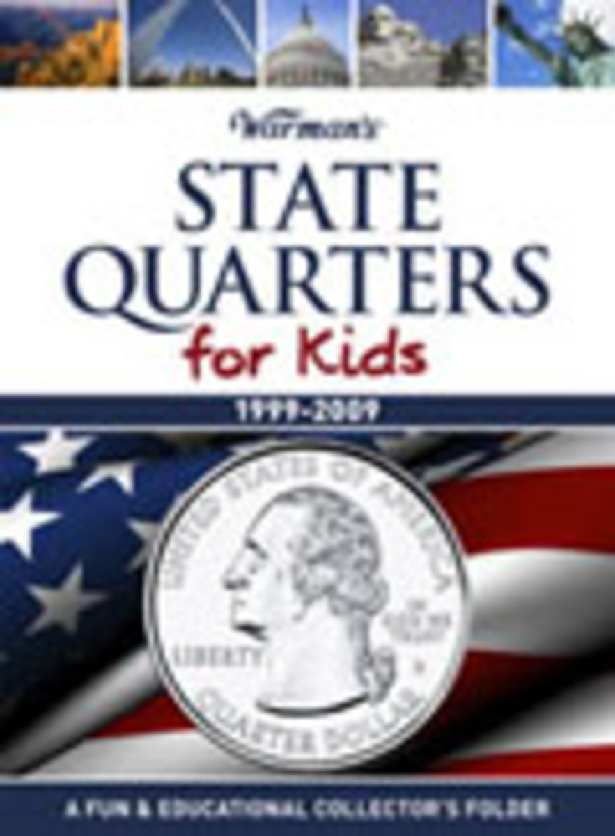 Warman's State Quarters for Kids Coin Folder