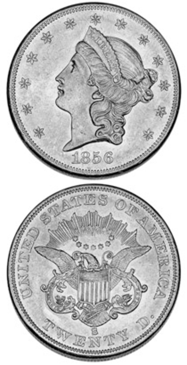 Thanks to recovery of treasure from the 'S.S. Central America,' the 1856-S double eagle offers collectors a chance to acquire a coin most thought they would never see.