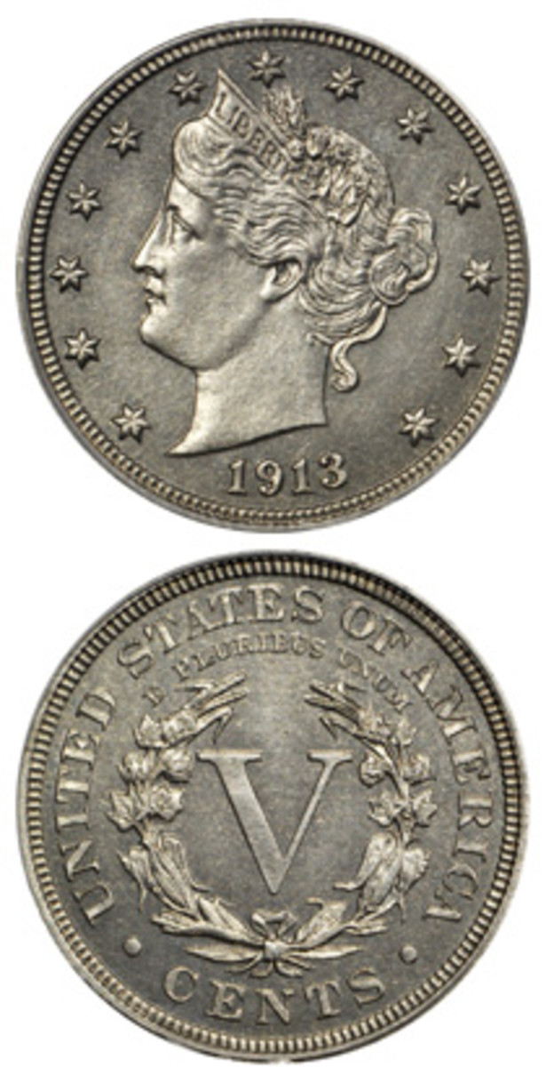 Stack's Bowers Galleries auctioned this 1913 Liberty Head nickel for $4.56 million.