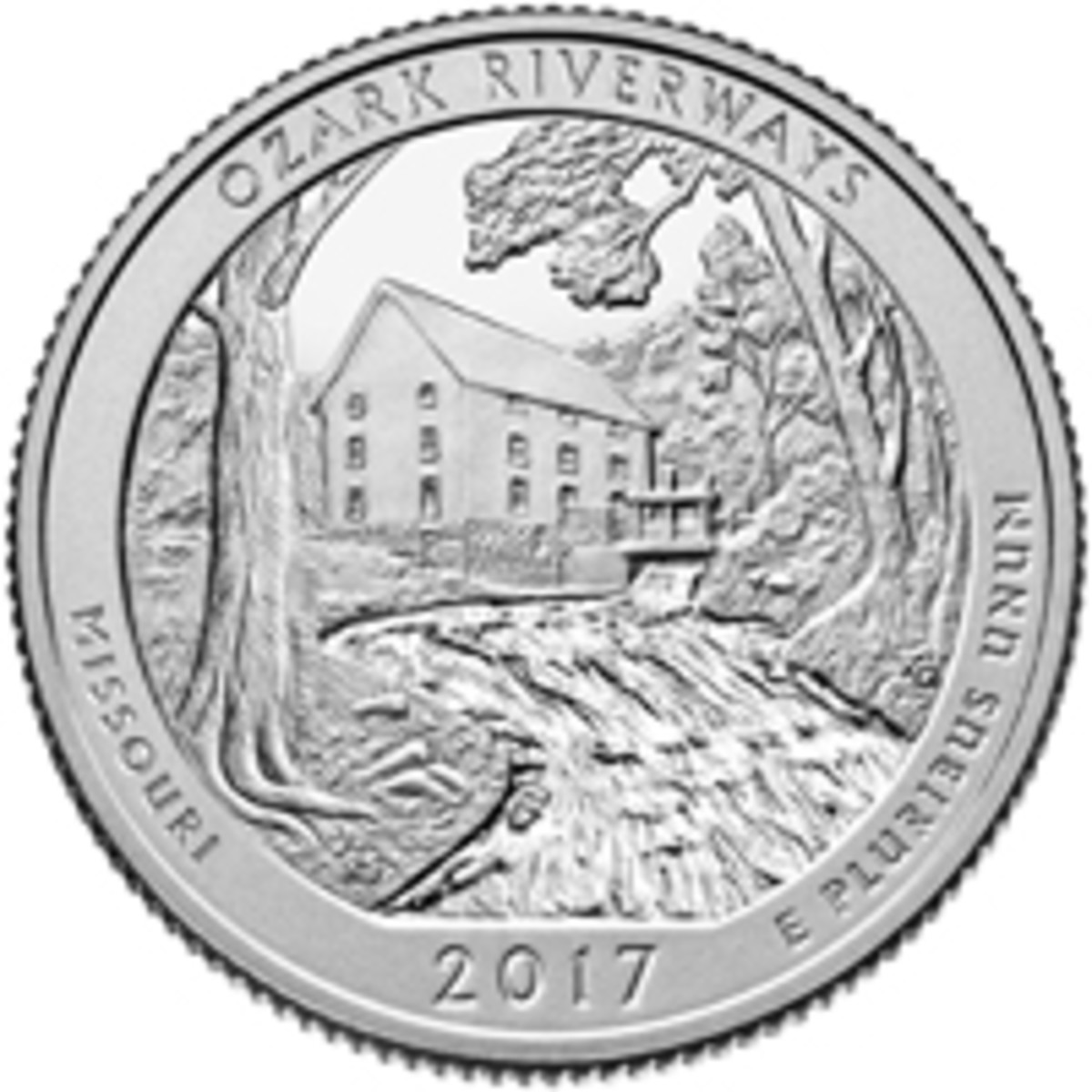 The beauty of the Ozarks is shown on the latest America the Beautiful quarter.