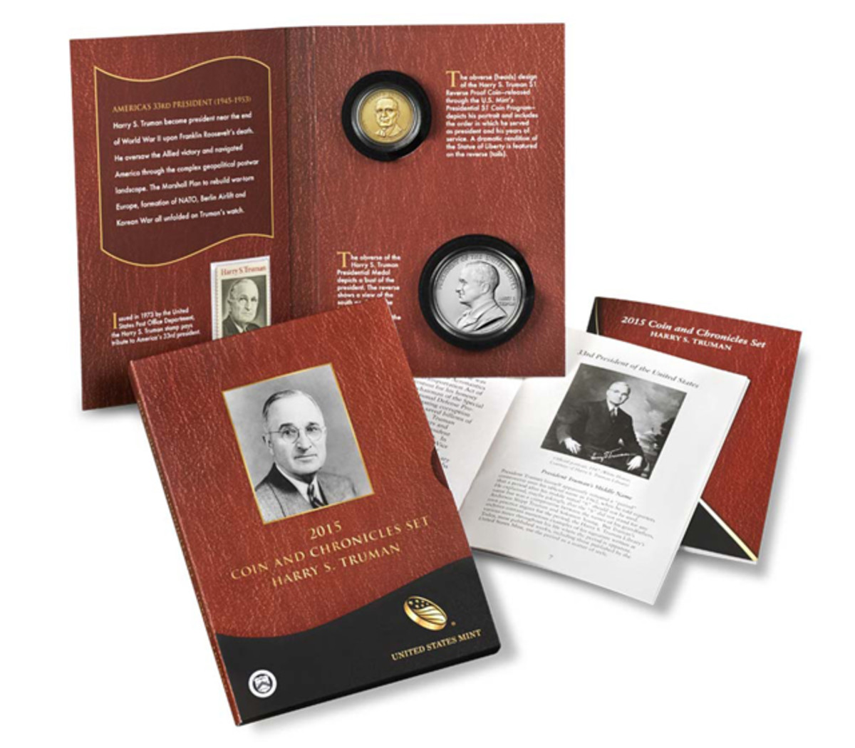 The Truman Coin and Chronicles set goes on sale June 30.