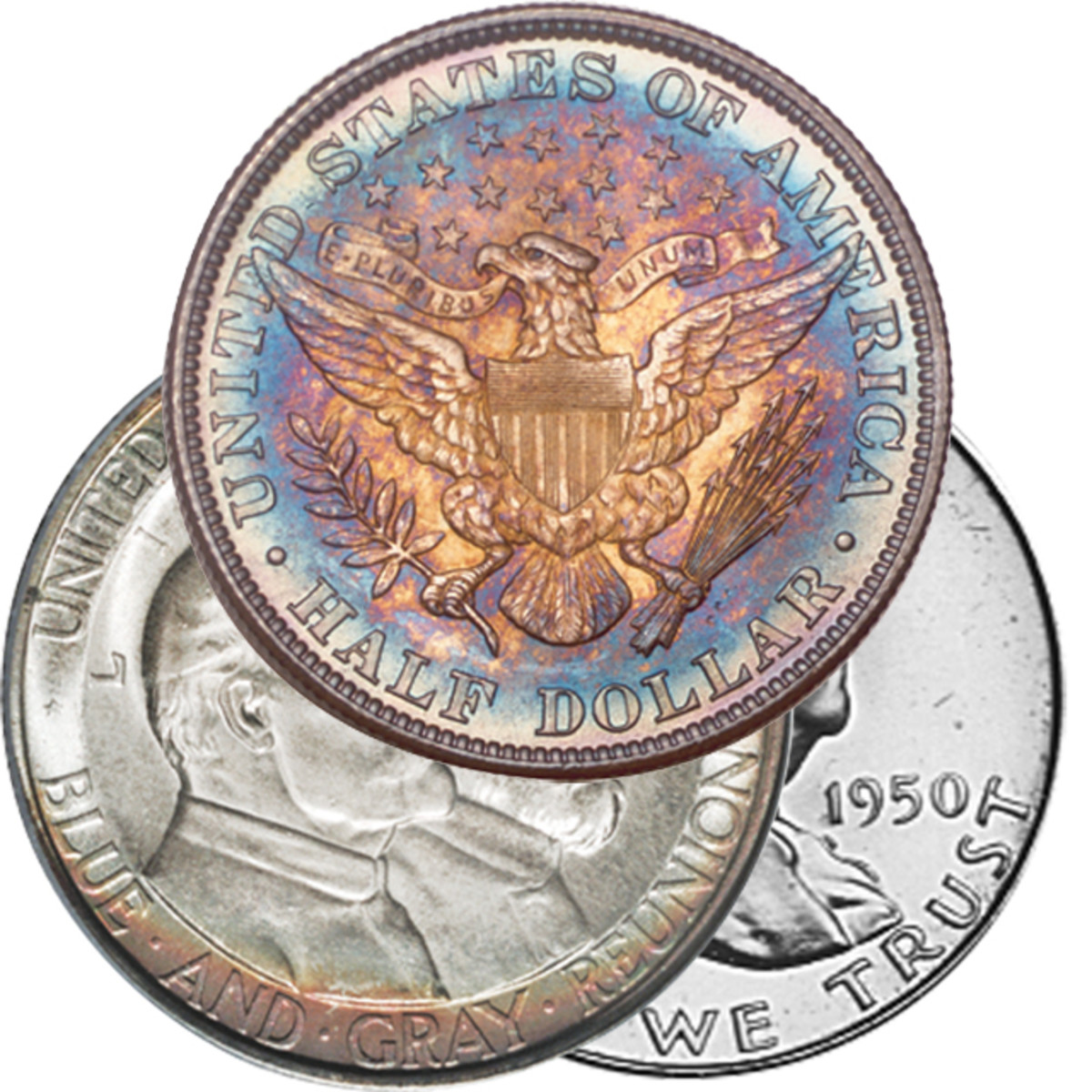 Certain coins, like high grade Barber coinage, Franklin half dollars and classic commemoratives did well at the show.