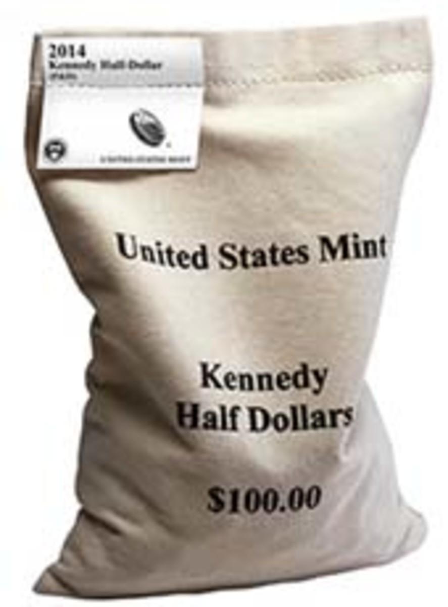 Kennedy Half Dollar Bag
