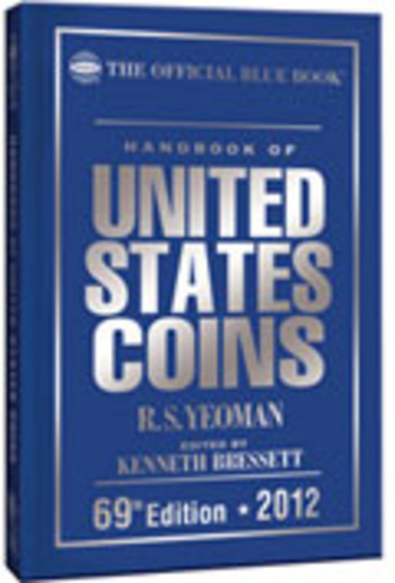 2012 Hand Book of United States Coins Blue Book