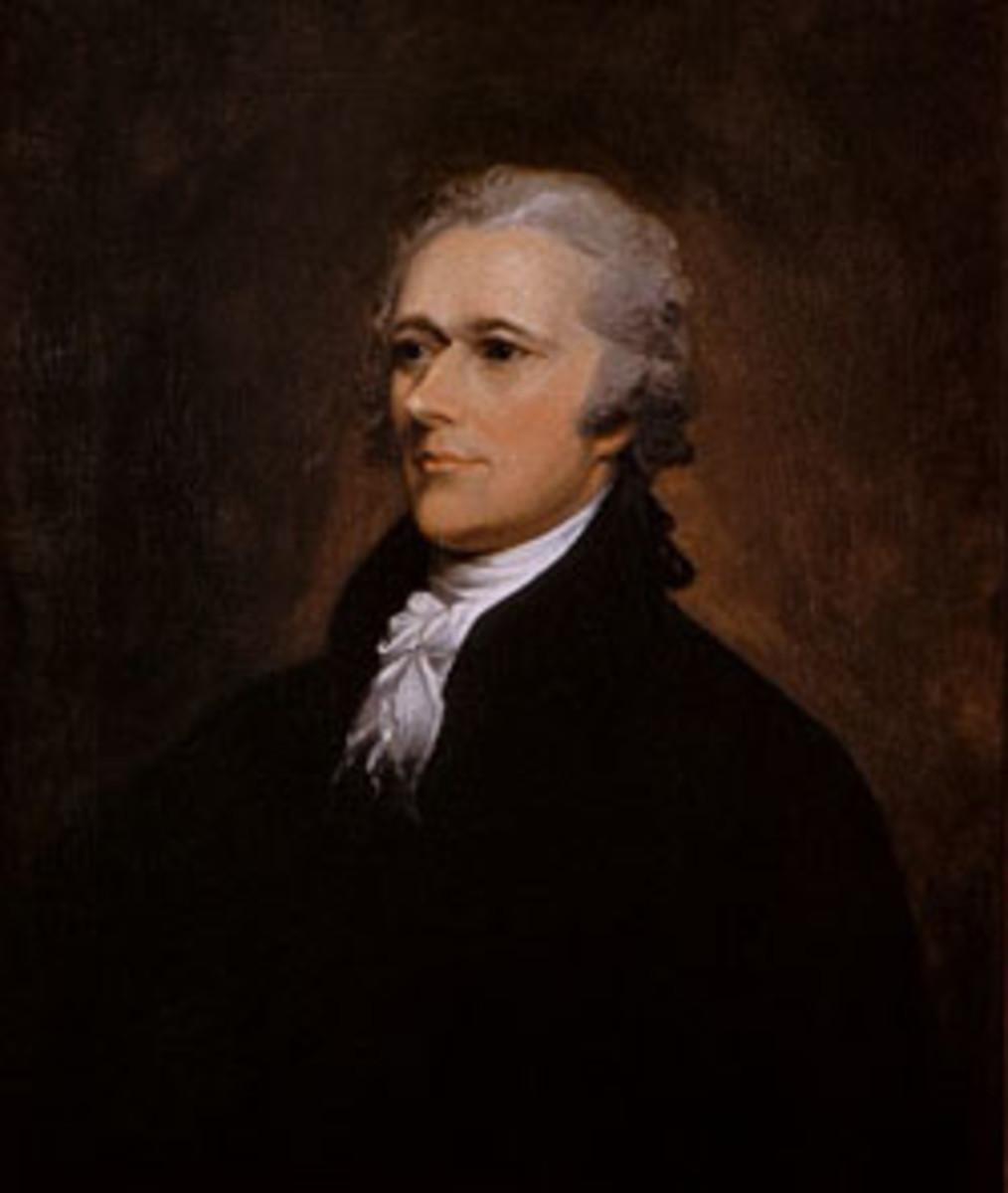 Treasury Secretary Alexander Hamilton